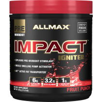Allmax Nutrition Impact Igniter, 20 Servings