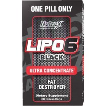 Nutrex Lipo 6 Black Ultra Concentrated, 60 Capsules